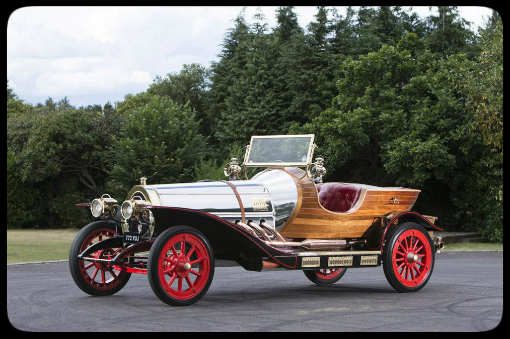 Chris Evans 1936 Chitty Chitty Bang Bang replica