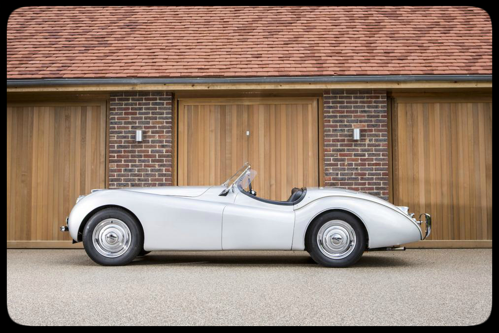 Chris Evans 1949 Jaguar XK120