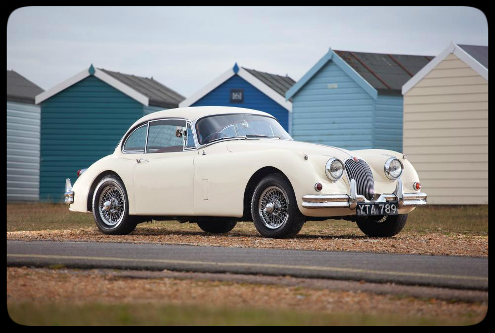 Chris Evans 1959 Jaguar XK150