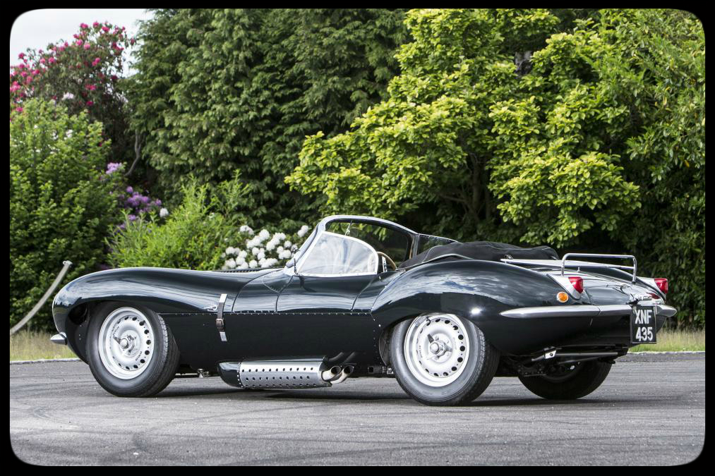 Chris Evans 1967 Jaguar XKSS recreation by Lynx