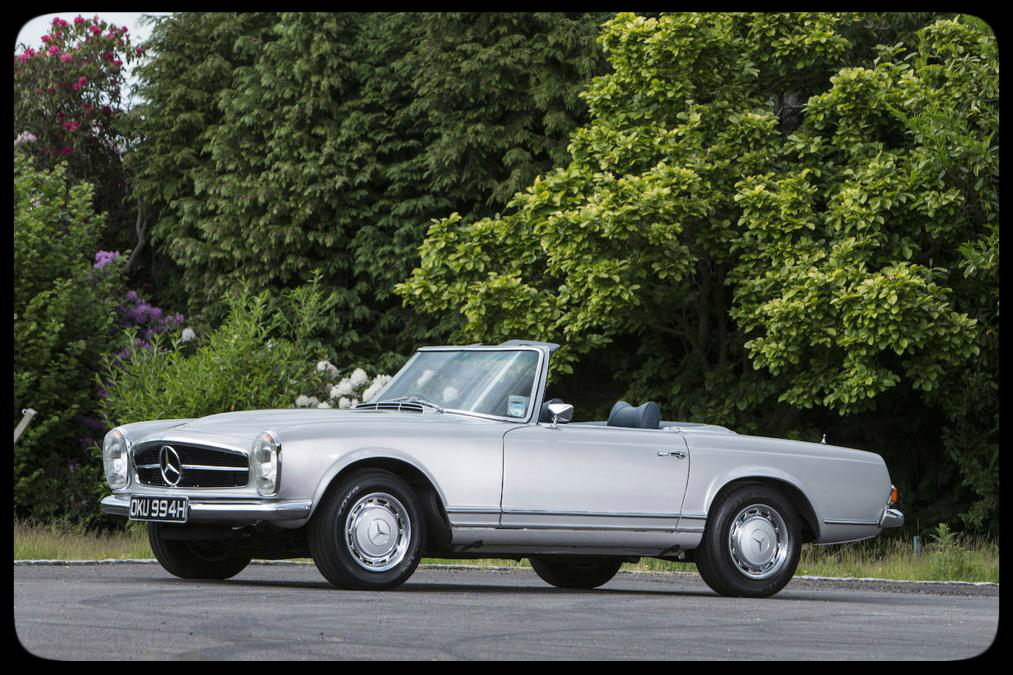 Chris Evans 1970 Mercedes 280SL