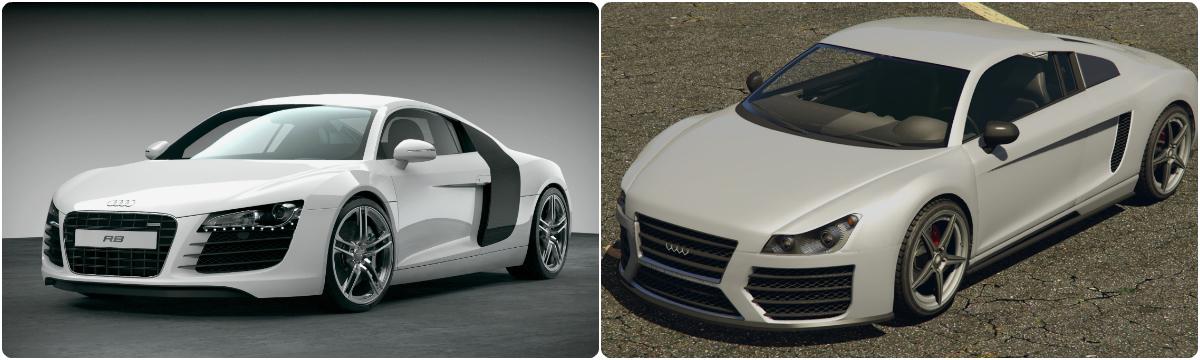 15 GTAV Vehicles Based On Real Cars