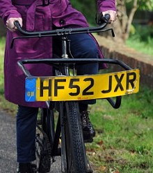 cycle number plates