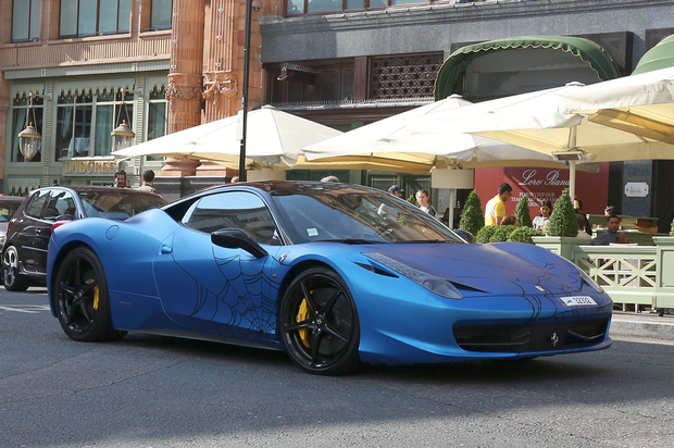 supercars for rent in london