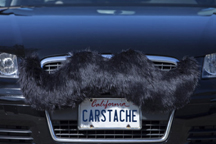 Carstache moustache personalisation for vehicles