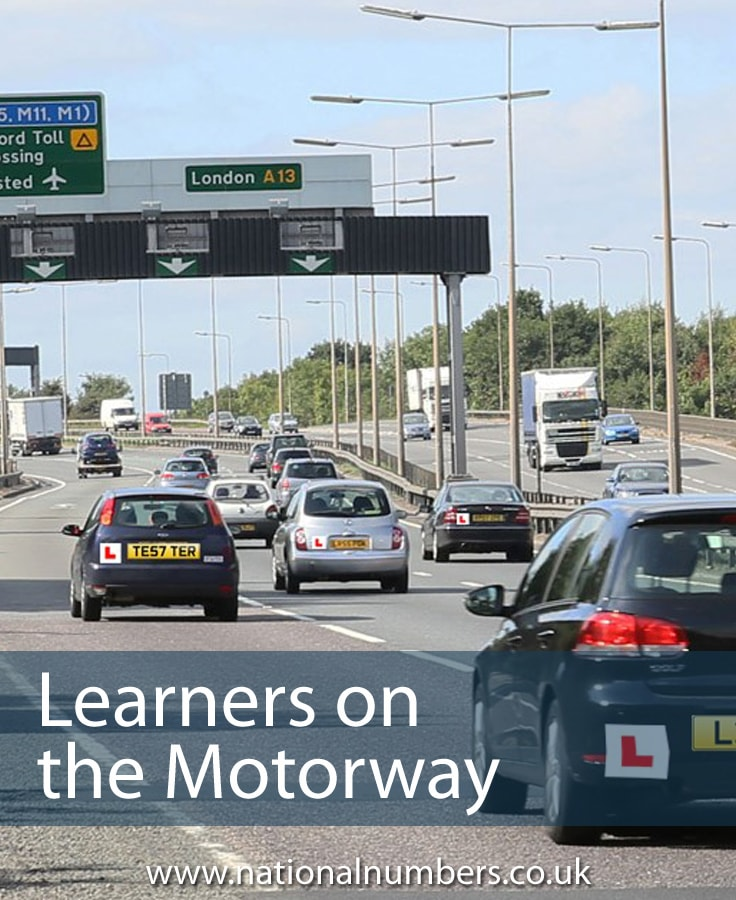 Learners on the Motorway
