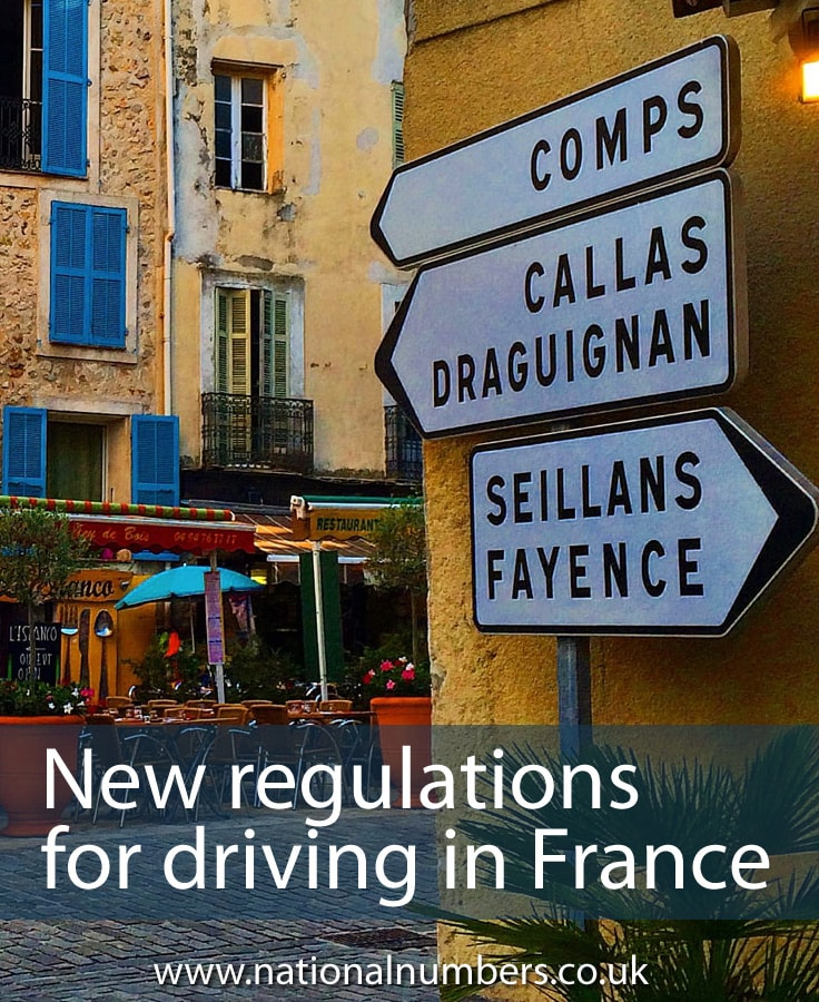 New Regulations for Driving in France