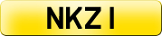 Private registration NKZ 1