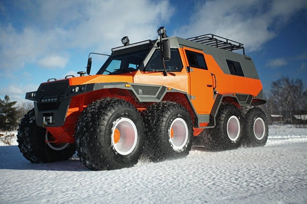 10 Most Extreme Snow Vehicles