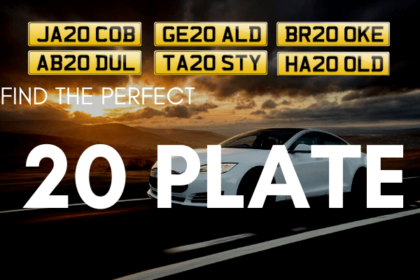 Everything You Need to Know About the 20 Series Number Plates