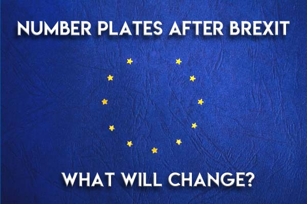 Number Plates After Brexit