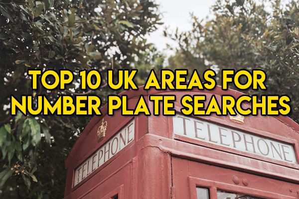 Top 10 Number Plate Enthusiasts by Area