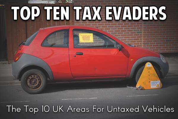 Top Ten Areas for Untaxed Vehicles