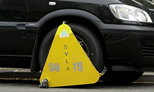 A-car-with-a-DVLA-wheel-c-008
