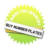 Save the World! Buy Number Plates!