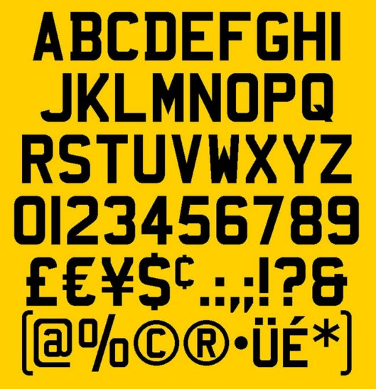 Complete Guide To Number Plate Fonts