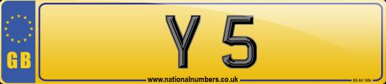 Y Number Plates