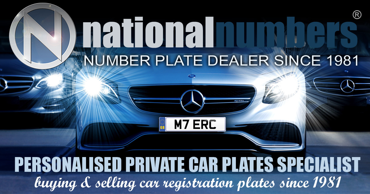 Number Plates Private Plates To Buy From National Numbers