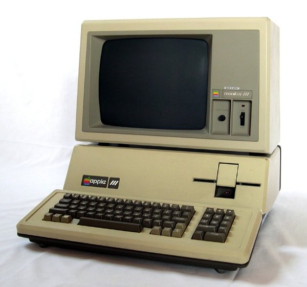The first computer in the office